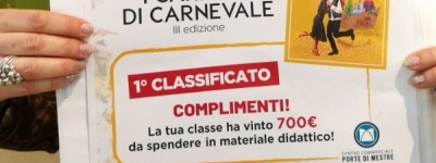 "Progetto ""Carrelli di Carnevale"" Primi classificati!"